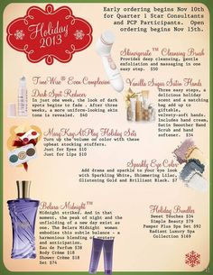 Mary Kay Holiday season 2013 Contact 606-226-0908 to get yours!