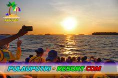 Pulau Putri Sunset Cruise - Indahnya Alam Wisata Pulau Seribu.