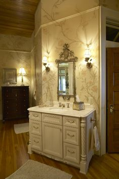 Woodharbor Bathroom Vanity In Vintage Vanilla Finish. Love The Furniture  Look. Bathroom Gallery,