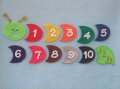Felt board idea- numbers