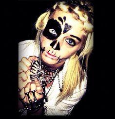 epic halloween makeup!