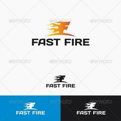 Fast Fire Logo Template Re sizable Vector EPS and Ai Color customizable Fully editable Free font used: .font Created: GraphicsFilesIncluded: VectorEPS Layered: Yes MinimumAdobeCSVersion: CS Resolution: Resizable Tags: brand Automotive Logo, Logo Design, Graphic Design, Letter Logo, Logo Templates, Logos, Branding, Letters, Fire