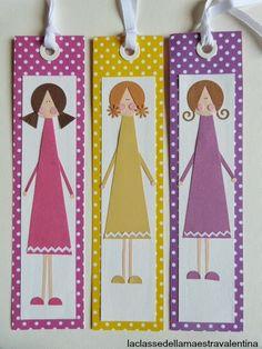 segnalibri bookmarks  La classe della maestra Valentina: segnalibri