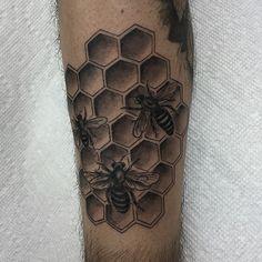 Honey bees.
