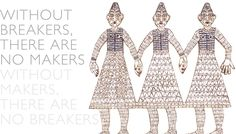 cleo mussi...  her work is a 'must see' for anyone who's as fascinated by mosiacs as i am!    'without breakers there are no makers.  without makers there are no breakers.'  indeed!