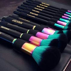 Spectrum Collections | Vibrant makeup brushes, tools and accessories. Hand finished, vegan and cruelty free. Apply your makeup with works of art. Dope!