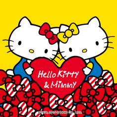 Resultado de imagem para hello kitty and mimmy