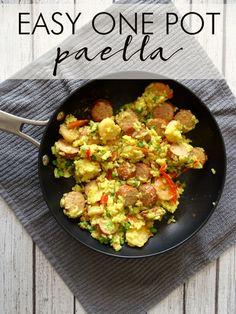 Easy One Pot Paella