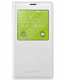 Samsung Galaxy S5 S view cover EF-CG900BWEGWW Wit