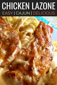 chicken recipes An easy recipe with Cajun roots made with seasoned chicken pan-fried until golden in butter finished with an easy creamy pan sauce served over pasta. Fun Easy Recipes, Great Recipes, Easy Meals, Favorite Recipes, Louisiana Chicken Pasta, Seafood Recipes, Vegetarian Recipes, Chicken Recipes, Cajun Cooking