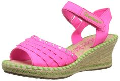 Skechers Girls' Tikis Ruffle Ups -- Wow! I love this. Check it out now! : Girls sandals