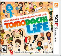 Ds Tomodachi Life for dsi   LOVE but i dont want to have to get a 3ds just to play this game