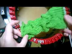 How to make a 3D Wave pattern on the Addi Express Kingsize The video shows it in panel format, however it can be also done knitting in the round. The princip... Addi Knitting Machine, Circular Knitting Machine, Knitting Machine Patterns, Loom Patterns, Knitting Stitches, Free Knitting, Stitch Patterns, Circular Loom, Addi Express