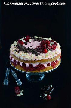 Kuchnia szeroko otwarta: Tort malinowo-truskawkowa fantazja