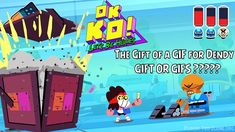 OK K.O.! Let's Play Heroes - The Gift of a GIF for Dendy - Gift or Gifs ...