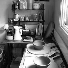 home pottery studio. Would love to have one of my own some day
