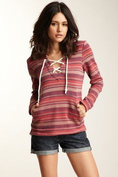 Cancun Fleece Pullover $29 - nice for cool summer nights