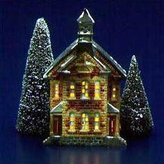 "The Original Snow Village - ""Town Hall"""