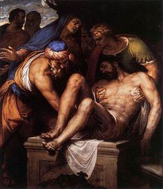 Paolo Veronese, Deposizione nel sepolcro, 1548-1549