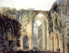 Thomas Girtin: Interior of Tintern Abbey