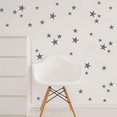 Hey, I found this really awesome Etsy listing at https://www.etsy.com/listing/266215349/star-wall-decal-star-decals-nursery