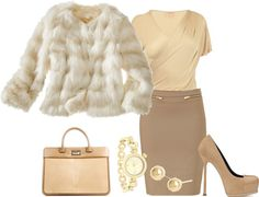 """Beige"" by doris610 on Polyvore"