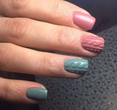 Nails shellac ideas winter new years ideas – … – Nails Summer – Fall – Spring – Winter Nail Art Design Gallery, New Nail Art Design, Pink Nail Designs, Best Nail Art Designs, Nails Design, Two Color Nails, Gel Nail Polish Colors, Nail Colors, Gel Polish