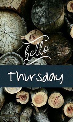 Hello Thursday! ❤️