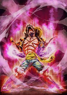 Luffy super haki mode