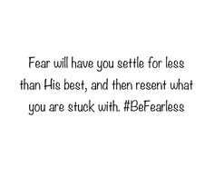 Perfect love casts out fear, trust God to help you. He is love.