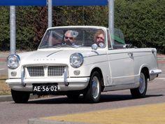 small convertible Triumph Herald