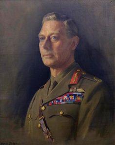 Portrait of H.M. King George VI by Denis Fildes, c. 1950.