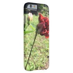 Hibiscus in Grenada Photo Print Phone Case Barely There iPhone 6 Case