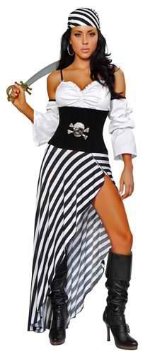 Pirate costume - could probably easily make something like this, but a less sexed up version.