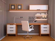 10 Dazzling Clever Ideas: Minimalist Home Office Bureaus modern minimalist living room japanese style.Minimalist Home Office Bureaus. Home Office Space, Home Office Desks, Home Office Furniture, Furniture Design, Small Office, Furniture Ideas, Plywood Furniture, Office Spaces, Work Spaces