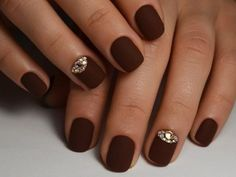 Nail art 1758 best nail art designs gallery brown nail matte beautiful nail art album for christmas prinsesfo Image collections