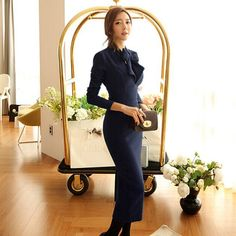4a102c1980a31 Outono das mulheres maxi escritório bandagem robe longo sexy bodycon  vestidos de festa do vintage ucrânia