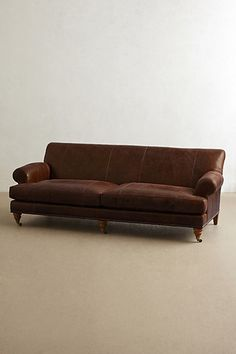 Leather Willoughby Sofa
