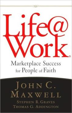 Life at Work - from Mark's Soapbox talk