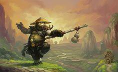 Pandaren Monk by Muzhi