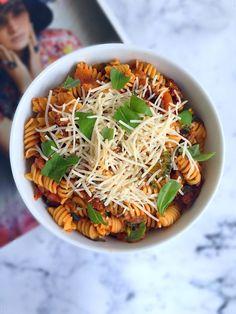 15 Minute Plant-Based Pasta Dinner – Tedi Sarah