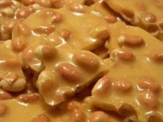 Crockpot peanut brittle