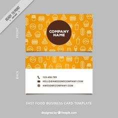 Big fork logo for chef catering restaurant food business card big fork logo for chef catering restaurant food business card pinterest card templates business cards and template accmission Images