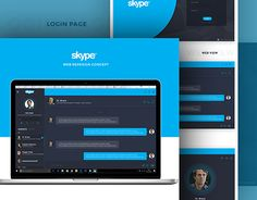 "Check out new work on my @Behance portfolio: ""Skype Desktop App - Redesign"" http://be.net/gallery/50115193/Skype-Desktop-App-Redesign"
