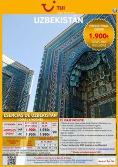 Esencias de UZBEKISTÁN. Precio final desde 1.900€ ultimo minuto - http://zocotours.com/esencias-de-uzbekistan-precio-final-desde-1-900e-ultimo-minuto-15/