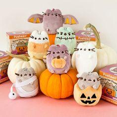 Pusheen Halloween Surprise Plush #pusheenthecat #pusheen #halloween #plush #kawaii