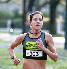 Walk for 3 minutes at 4.0; run at 7.0 for 90 seconds; then sprint at 9.5 for 30 seconds -- repeat until you have completed 30 minutes (should be close to 4 miles!) -- then jog for 3 minutes to cool-down. --Love marathoner Kara Goucher!!