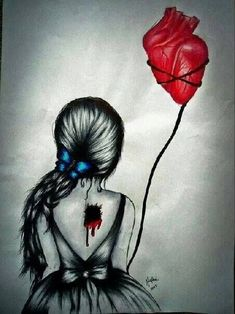 """Take my balloon..."" Love is ripping your own heart out to allow someone else to fly"