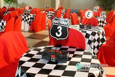 centro de mesa aniversario carros - Pesquisa Google