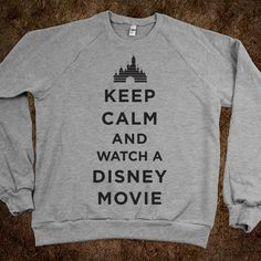 I should have this sweatshirt fr every time I go watch a Disney movie!!!